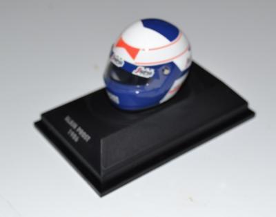 Casque Alain Prost ecurie Mac Laren 1986 minichamps 1/8