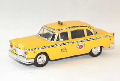 Checker marathon taxi New York 1963
