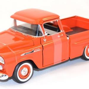 Chevrolet apache fleetline 1958 pick up miniature motor max au 1 24 1