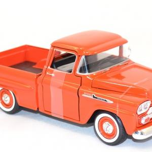 Chevrolet apache fleetline 1958 pick up miniature motor max au 1 24 2