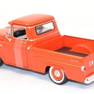 Chevrolet apache fleetline 1958 pick up miniature motor max au 1 24 3
