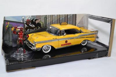 Chevrolet Chevy Bel air 1957 Taxi Jaune