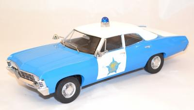 Chevrolet biscayne Chicago Police 1967 Greenlight 1/18 green19009