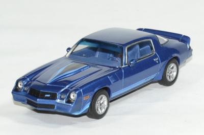 Chevrolet Camaro Z28 Bleu métallisé 1980