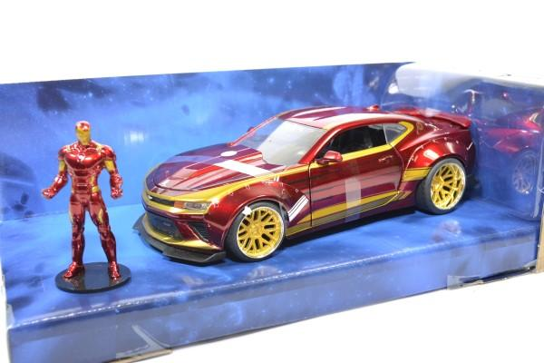 Chevrolet camaro ss 2016 ironman figurine jada toys 1 24 autominiature01 255003