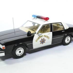 Chevrolet Caprice police patrouille Autoroute Californie 1987