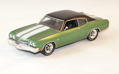 Chevrolet chevelle SS verte de 1970