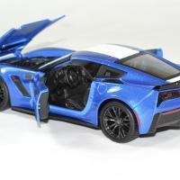 Chevrolet corvette 2017 grand sport bleu 1 24 maisto autominiature01 4