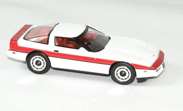 Chevrolet corvette c4 1984 a team fute face 1 43 greenlight autominiature01 3