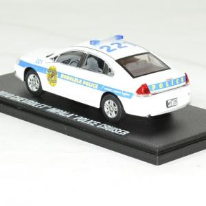 Chevrolet impala 2010 hawai 5 0 police cruiser 1 43 greenlight autominiature01 2