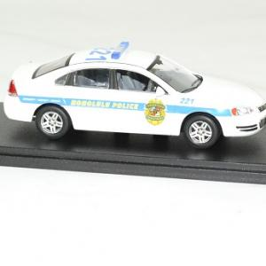 Chevrolet impala 2010 hawai 5 0 police cruiser 1 43 greenlight autominiature01 3
