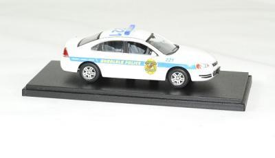 Chevrolet impala police cruiser 2010 serie