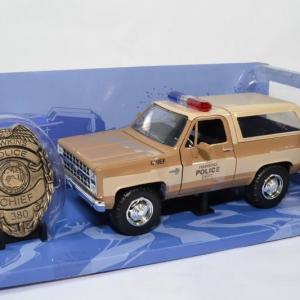 Chevrolet K5 Blazer 1980 Police de Hawkins serie
