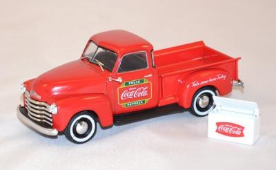 Chevrolet pick up livraison 1953 Coca Cola 1/43 MotorCity Mcity478104