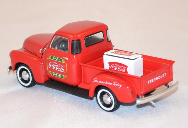 chevrolet pick up livraison 1953 coca cola 1 43 motorcity. Black Bedroom Furniture Sets. Home Design Ideas