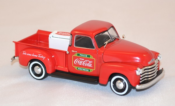 chevrolet pick up delivery 1953 coca cola 1 43 motorcity. Black Bedroom Furniture Sets. Home Design Ideas