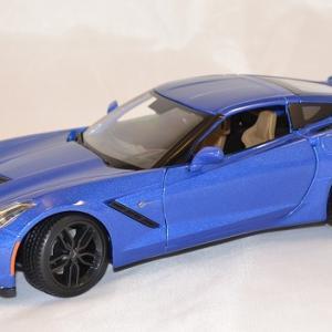 Chevrolet stingray z51 2014 bleue 1 18 maisto www autominiature01 com 1