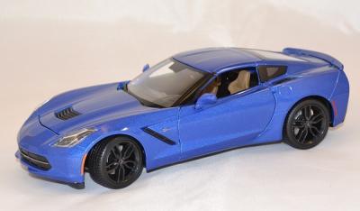Chevrolet stingray z51 2014 bleue