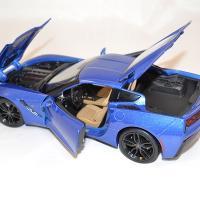 Chevrolet stingray z51 2014 bleue 1 18 maisto www autominiature01 com 4