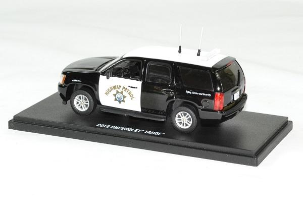 Chevrolet tahoe police 2012 highway patrol 1 43 greenlight autominiature01 2