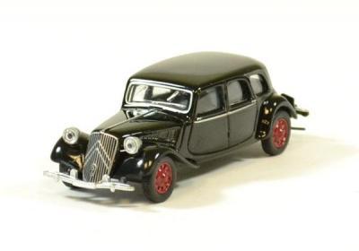Citroen traction 15/6 noir 1939
