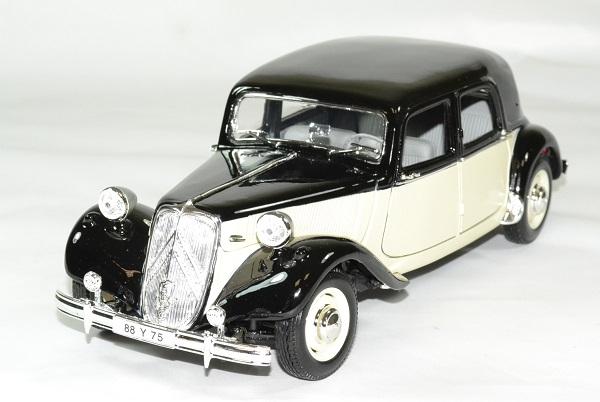Citroen 15cv 6v 1952 beige noir 1 18 maisto autominiature01 1