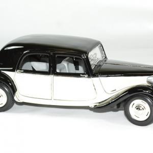 Citroen 15cv 6v 1952 beige noir 1 18 maisto autominiature01 3