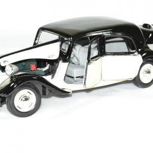 Citroen 15cv 6v 1952 beige noir 1 18 maisto autominiature01 4