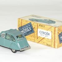 Citroen 2cv azl 1966 vert norev 1 43 autominiature01 2