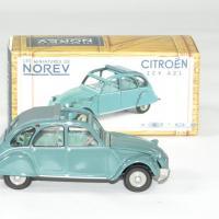 Citroen 2cv azl 1966 vert norev 1 43 autominiature01 3