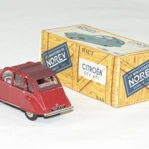 Citroen 2cv azl rouge 1968 norev 1 43 autominiature01 2