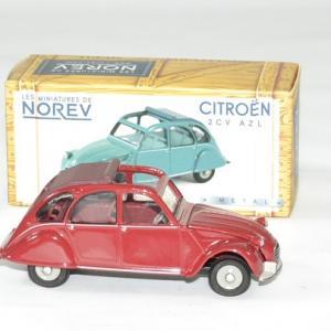 Citroen 2cv azl rouge 1968 norev 1 43 autominiature01 3