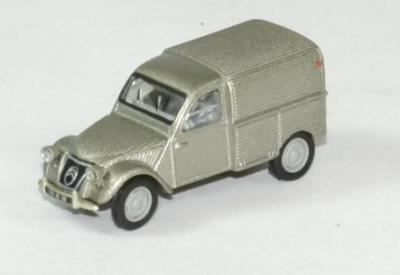 Citroen 2cv AU gris fourgonnette