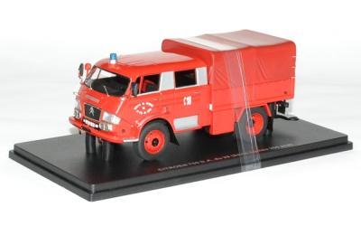Citroen 700 DA avec bâche pompiers Sdis 29 finistère