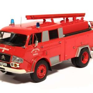 Citroen 700 fpt pompier camion miniature alerte 1 43 autominiature01 1