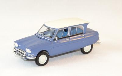 Citroen ami 6 1967 bleu