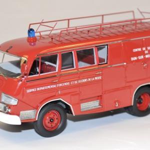 Citroen belphegor pompiers type 350 autocult 1 43 autominiature01 com 1