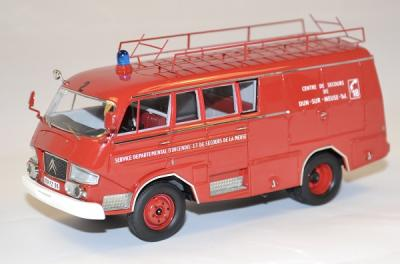 Citroen Belphégor type 350 pompier 1966