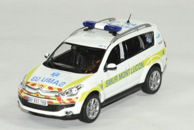Citroen C-crosser SMUR de montluçon 2011 blanc