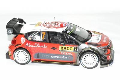 Citroen C3 WRC 2017 1er Rallye d'Espagne #7