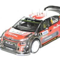 Citroen c3 wrc corse 2017 lebebvre 1 18 norev autominiature01 1