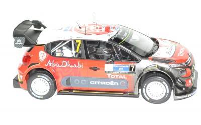 Citroen C3 WRC 2017 1er Rallye du Mexique #7