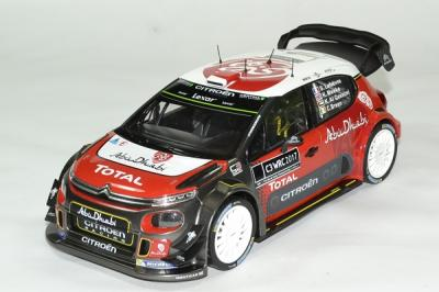 Citroen C3 WRC 2017 version officielle présentation