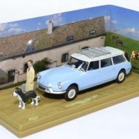 Citroen ds 19 break figurine presse 1 43 75036 autominiature01 1 1