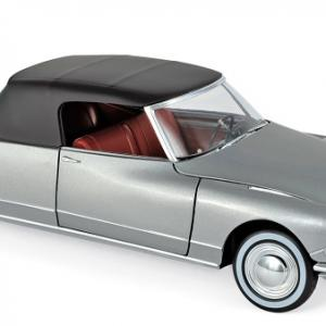 Citroen ds 19 cabriolet 1961 norev 1 18 grey chapron autominiature01 1