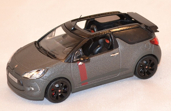 Citroen ds3 racing cabriolet francfort miniature norev 1 43 autominiature01 com 1