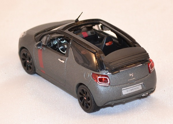 Citroen ds3 racing cabriolet francfort miniature norev 1 43 autominiature01 com 2