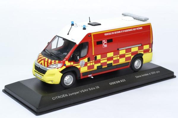 Citroen jumper sapeurs pompiers sdis38 1 43 odeon 0033 autominiature01 1