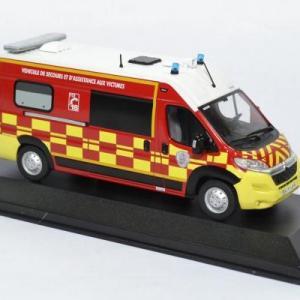 Citroen jumper sapeurs pompiers sdis38 1 43 odeon 0033 autominiature01 3