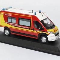 Citroen jumper securite civile pompiers odeon 1 43 0037 autominiature01 3